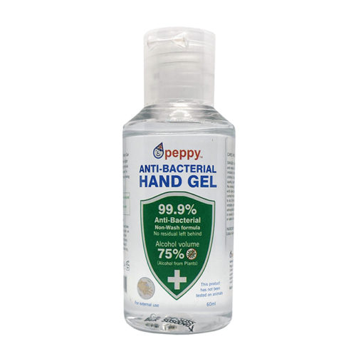 Peppy Hand Sanitiser 60ml